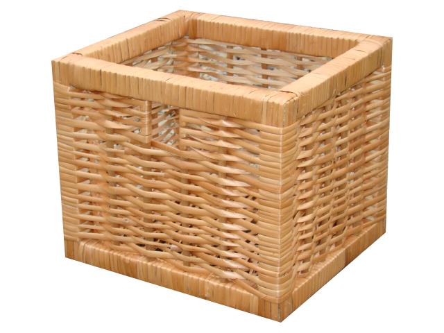Wiklinowy koszyk łazienkowy